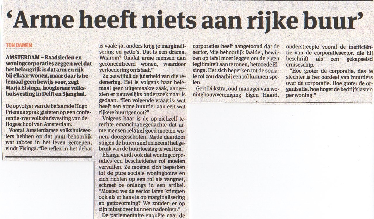 Parool 15 januari 2015 - citaat Gert Dijkstra