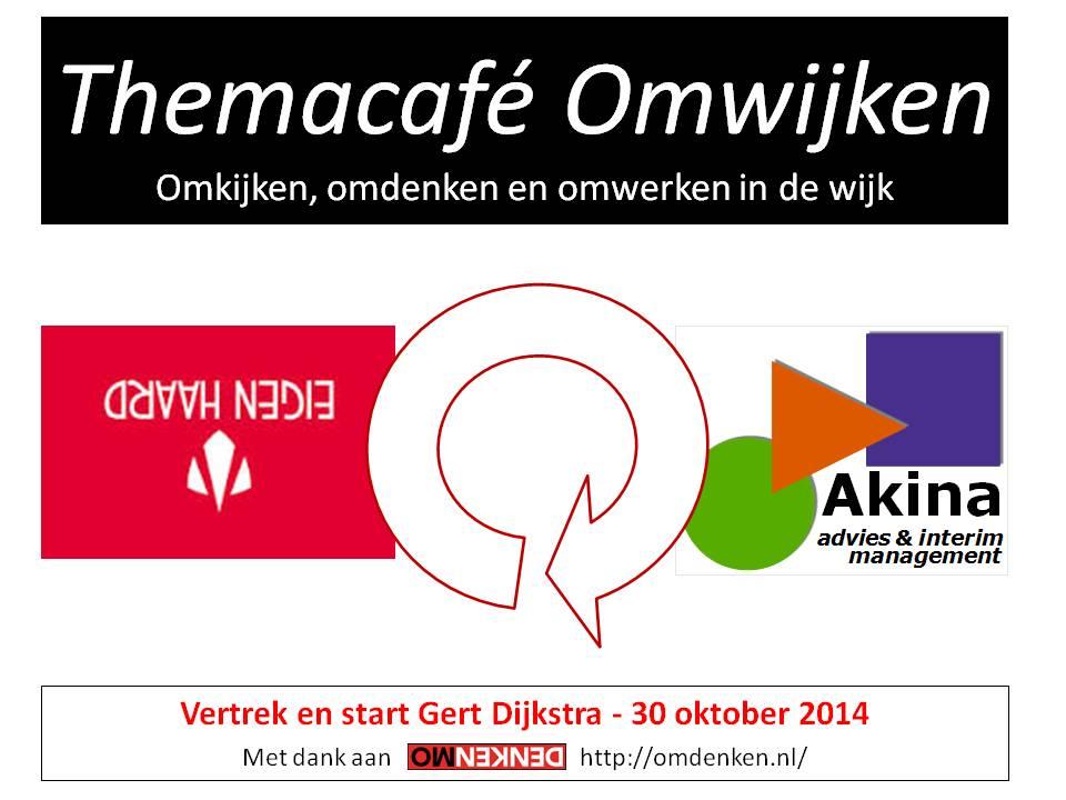 Themacafé Omwijken - oktober 2014 - eerste dia